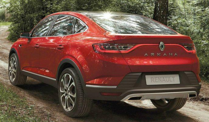 Renault'un BMW X6 Rakibi Coupe SUV'u Arkana'nın İlk Resmi Görselleri!
