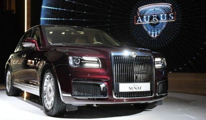"Rusya'nın Rolls Royce Phantom'a Cevabı: ""Aurus Senat"""