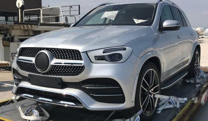 2019 Yeni Mercedes GLE'nin Kamuflajsız Görüntüleri Geldi