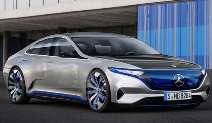 """Mercedes'in EQC SUV Sonrası Planlarında """"EQS Sedan"""" Olduğu Doğrulandı!"""