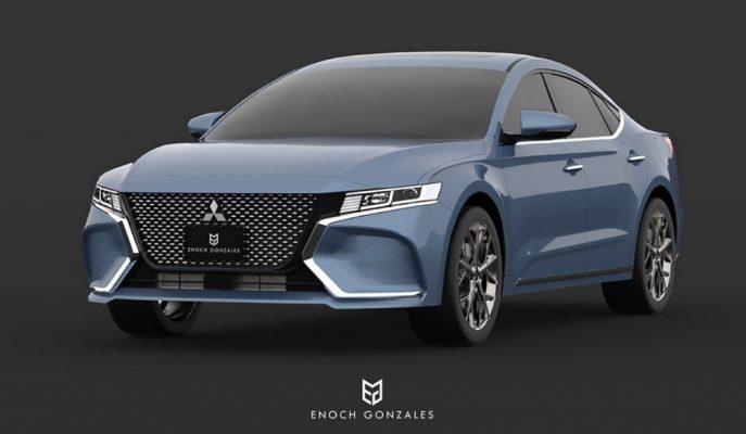 Enoch Gabriel'in Tasarımı 2020 10. Nesil Mitsubishi Galant'ı İşaret Ediyor!