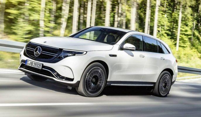 """Mercedes'in İlk Tamamı Elektrikli 4×4 SUV'u """"EQC 400 4Matic"""" Sahnelerde!"""