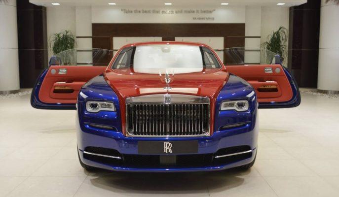 Ismarlama Boya Tonuyla Sizce Rolls Royce Wraith Nasıl Olmuş?