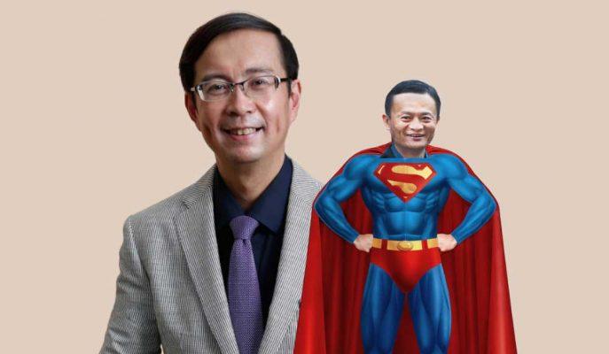 Alibaba'nın Yeni Başkanı Daniel Zhang Jack Ma'ya Kıyasla Daha Çok Clark Kent!