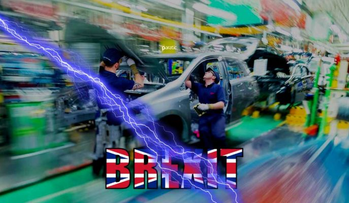 Anlaşmasız Brexit Toyota'nın Birleşik Krallık Üretimini Durdurabilir!