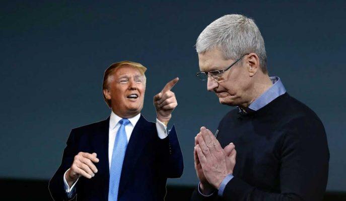 """Apple: """"Trump'ın 200 Milyar Dolarlık Çin Tarifeleri Şirkete Zarar Verecek"""""""