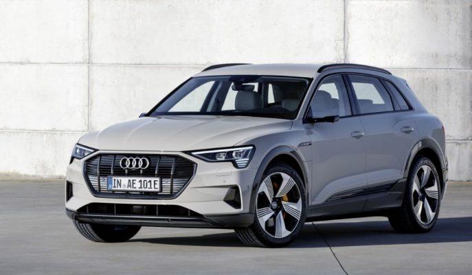 "Audi Tarihinin İlk Elektrikli Aracı: ""E-Tron SUV"""