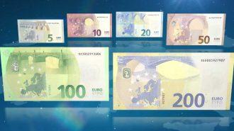 Avrupa Merkez Bankası Yeni 100 ve 200 Euroluk Banknotları Tanıttı