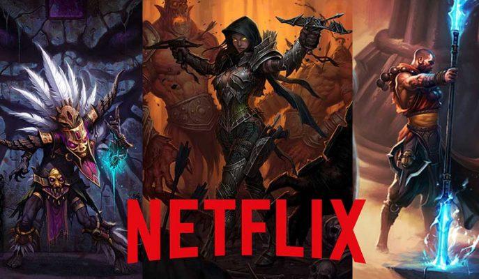 Efsane Oyun Serisi Diablo Netflix'te Dizi Olarak Geliyor