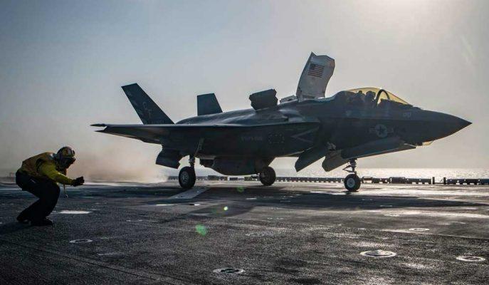 Türkiye ile ABD Arasında Krize Neden Olan F-35 Savaş Uçağı Düştü!