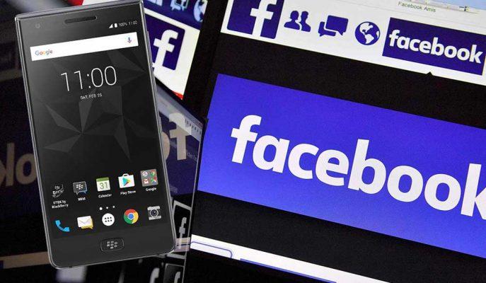 Facebook ve BlackBerry Teknoloji Patentleri Nedeniyle Karşı Karşıya Geldi