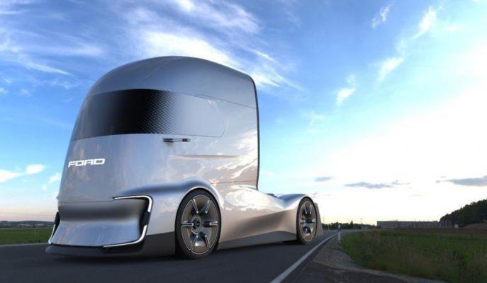 Ford Otosan Geleceğin Elektrikli Otonom Kamyon Kavramını F-Vision ile Oluşturuyor!