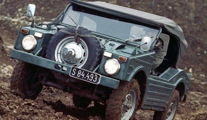 """Cayenne ve Macan'ı Aklınızdan Çıkartın! İşte Tarihin İlk Porsche SUV Aracı """"Jagdwagen"""""""