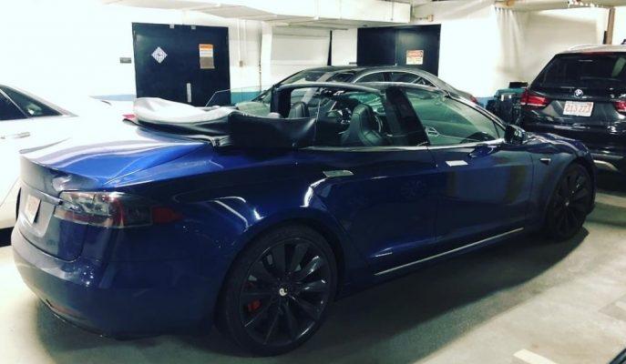 """Üstü Açık Bir Tesla Roadster Bulamıyorsanız """"Model S Convertible"""" Alabilirsiniz!"""