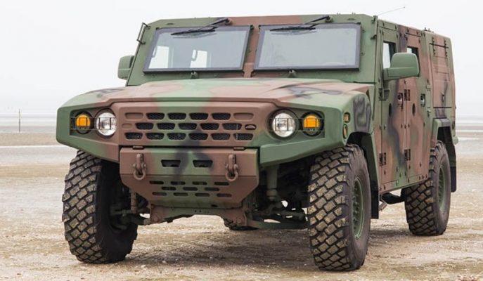 """Kia'nın Askeri Hafif Taktik Aracı """"Light Tactical Vehicle"""""""