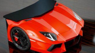 44 Adetlik Sınırlı Sayıdaki Lamborghini Aventador Masasının Fiyatı Kafa Karıştırıyor!