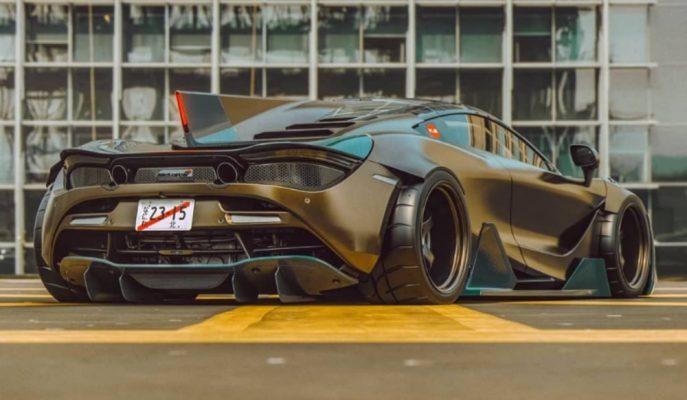 Speedtail Öncesi Gelen Özel Bir McLaren 720S Tasarımı!