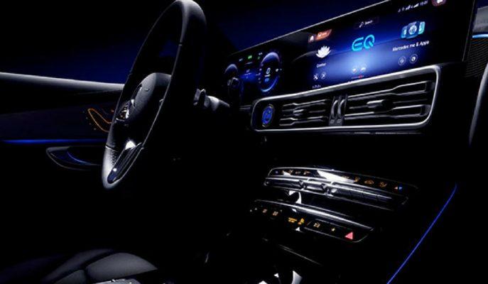 4 Eylül'de Tanıtımı Yapılacak Mercedes EQC'nin Kokpit Teaser Videosu!