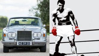 """Muhammed Ali'nin """"1970 Silver Shadow Rolls Royce""""u Açık Artırmaya Çıkıyor!"""