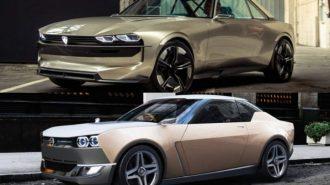 Peugeot e-Legend ile Nissan IDx Konsept Arasındaki İnanılmaz Benzerlik!