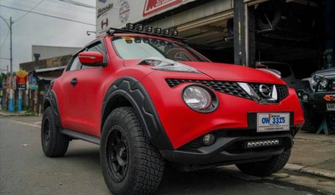"""Caddelerin Kibar Çocuğuna Off Road Bedeni: """"Nissan Juke – Lady Bug"""""""
