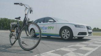 Bisikletten Uyarlama Pedalla Gidebileceğiniz Audi A4 FitCar'a Yakından Bakın!