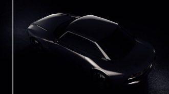 Peugeot Paris Fuarı'na 508'in Özel Bir Coupe Versiyonunu Getiriyor!