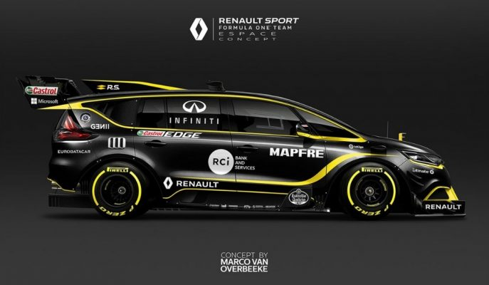 Renault, Espace MPV'nin 21. Yüzyıl F1 Powered Tasarımını Gösterdi!