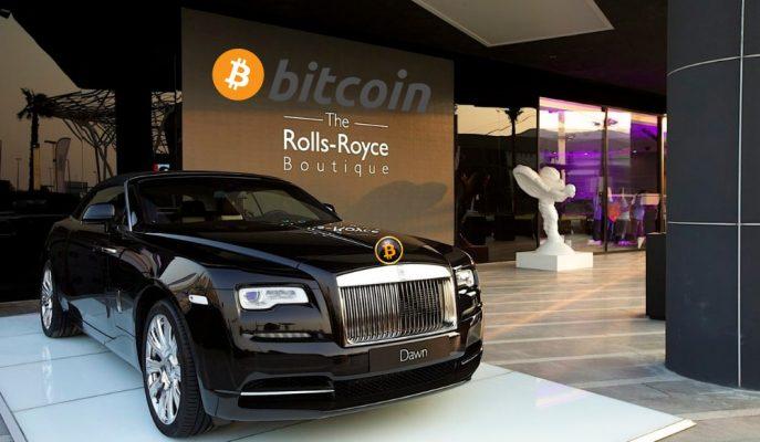 Rolls Royce Amerika Bayisi Houston Cars Bitcoin ile Araba Satışına Başladığını Duyurdu!