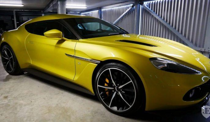 Aston Martin'in 99 Adet Ürettiği Vanquish Zagato'lardan Biri Daha Satılıyor!