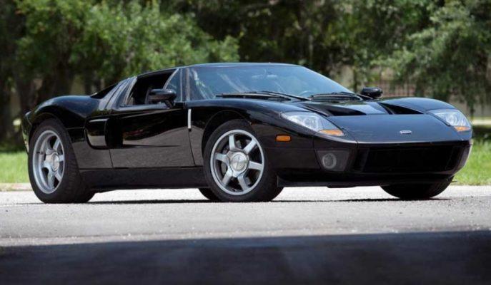 """Dünyada Bir Adet Olan """"2004 Ford GT Prototip CP4"""" Açık Artırmada!"""