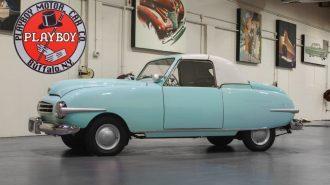"""Packard'ın Nadir Eserlerinden 1948 Tarihli Bir """"Playboy A48"""" Satılıyor!"""