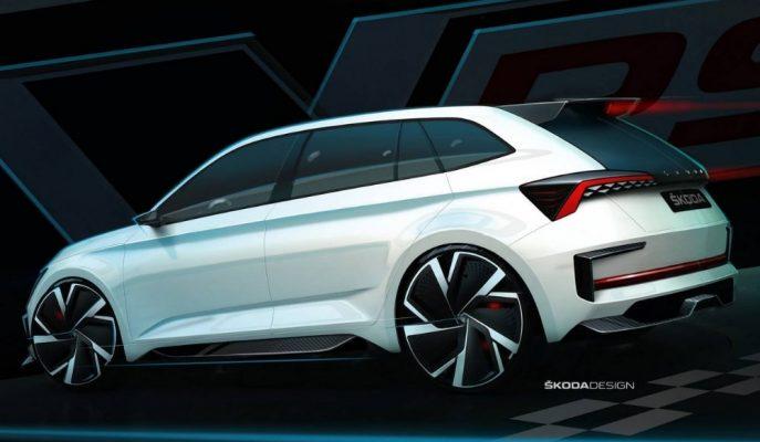 2020 Skoda Vision RS Konsepte 244 Ps'lik Hibrit Motor Geliyor!
