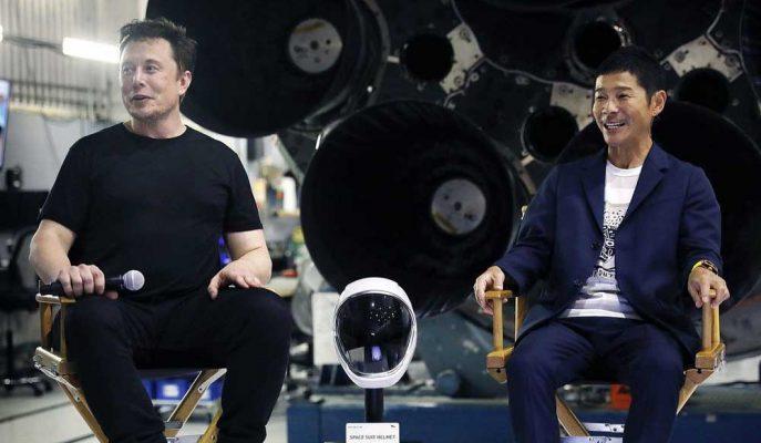 SpaceX'in Ay'a Yollayacağı İlk İsim Japon Milyarder Yusaku Maezawa Oldu!