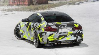 """BMW M4 Coupe'ye Renkli """"Strasse Wheels"""" Dokunuşları!"""