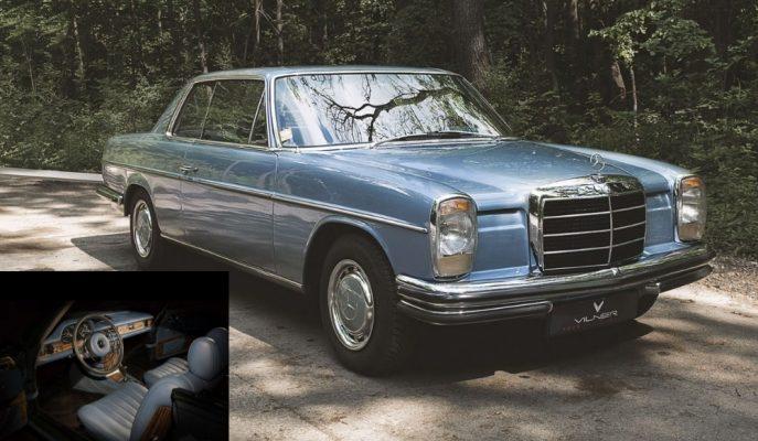 Vilner'ın 1970 Model Mercedes 250CE Restoresi Hayran Bırakıyor!