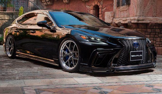 Wald International'ın Hayran Bırakan Yeni Lexus LS Modifiyesi!