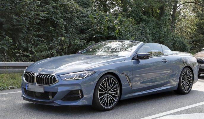 BMW 8 Serisi Convertible'ın Üzerindeki Örtüler Kaldırıldı!