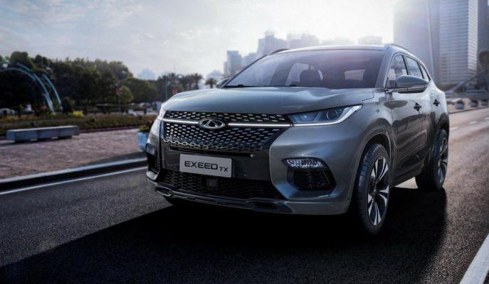 Çinli Chery 2020 Yılı için Exeed TX Hibrit SUV'un Üretim Onayını Verdi!