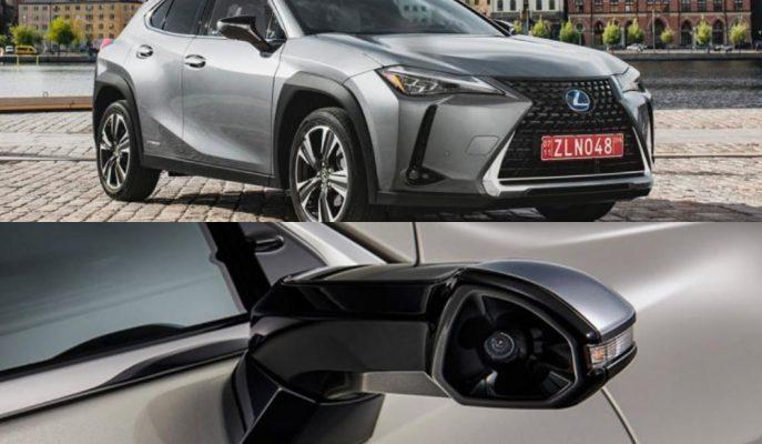 Lexus'un UX SUV'a Hibrit Desteği Gelirken ES Modeli de Klasik Dikiz Aynasına Veda Etti!