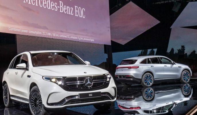 Mercedes'in Menzilini Yanlış Verdiği EQC SUV için Düzeltme Yaptı!