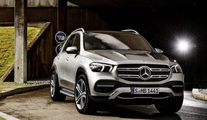 2019 Yeni Nesil Mercedes GLE'nin Üretim Modeli Tanıtıldı