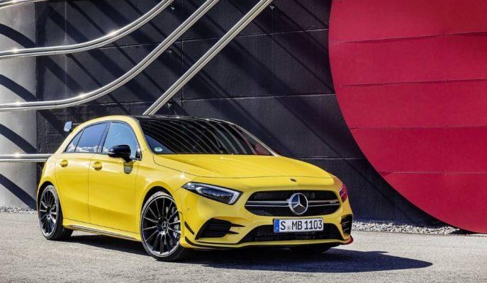 """Golf R ve Audi S3'lerin Kafalarındaki Ünlem İşareti: """"Mercedes-AMG A35"""""""