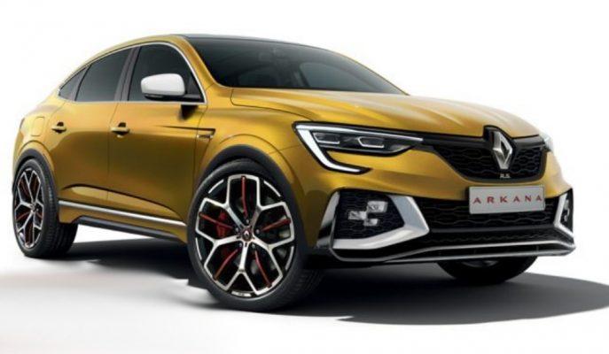 Renault'un Yeni SUV Modeli Arkana'ya Yapılan Uçuk Tasarımlar!