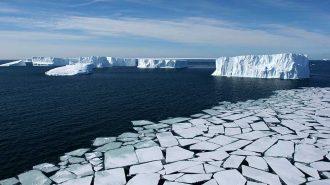 Bilim İnsanları Antartika Buzullarından Gelen Korkunç Sesleri Kaydetti