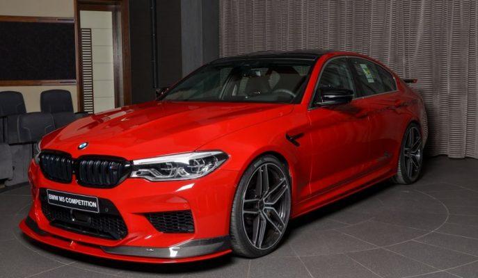 """Abu Dhabi BMW'den Sizler için Hazırlanan En Özel """"M5 Competition"""""""