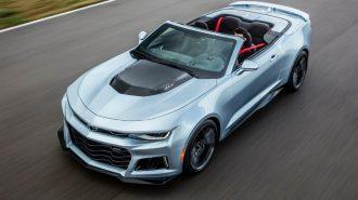 Ford Mustang Hybrid'e Karşı Chevrolet Camaro ile Harekete Geçti!