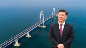 Çin Devlet Başkanı Xi Jinping Dünyanın En Uzun Deniz Köprüsünün Açılışını Yaptı!