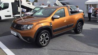 Dünyanın İlk Dacia Duster Pick-up'ı ile Tanışın!