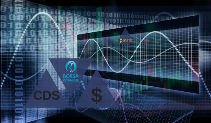Dolar Düşerken Paralel Seyreden CDS'ler BIST ile Ters Orantılı Grafikler Çiziyor